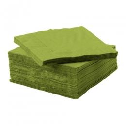 Салфетки бумажные IKEA Фантастиск зеленые