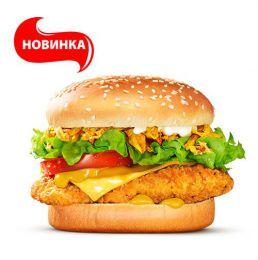 """Сэндвич """"Чикен Карри"""" Burger King"""