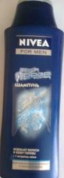 Шампунь Nivea For Men Fresh Freeze с экстрактом лайма