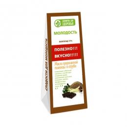 """Шоколад с маслом пророщенной пшеницы и отрубями """"Лакомства для здоровья"""""""