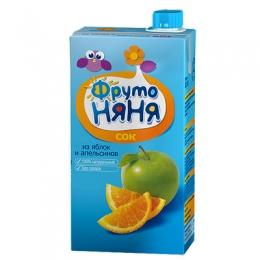 Сок ФрутоНяня из яблок и апельсинов