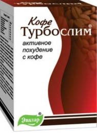 """Средство для похудения """"Турбослим"""" кофе"""