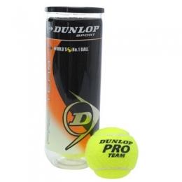 Теннисные мячи Dunlop Pro Team 3B