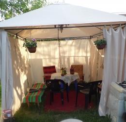 Тент-шатер Castorama бежевый