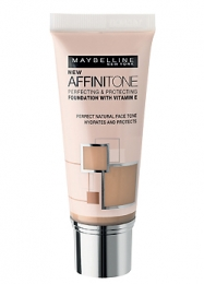 Тональный крем Maybelline Affinitone Foundation with vitamin E
