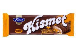 Вафля с апельсиновым вкусом в молочном шоколаде Kismet Fazerina Fazer