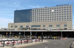Вокзал Barcelona Sants (Испания)
