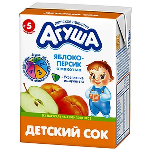 аллергия на сок агуша