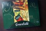 Внешний вид коробки Greenfield Premium Tea Collection