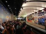 Пик Виктория в Гонконге - очередь на трамвайчик