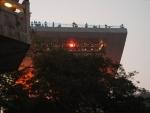 Пик Виктория в Гонконге - смотровая площадка (вид снизу)