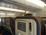 Рейс Шанхай-Москва Аэрофлотом - довольно удобные кресла