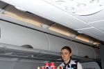 Обслуживание на международном рейсе Аэрофлота