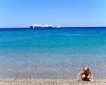Средиземное море на острове Родос