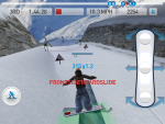 Игра Fresh Tracks Snowboarding для iPad - делаем финт