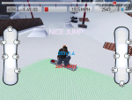 Игра Fresh Tracks Snowboarding для iPad - делаем трюк