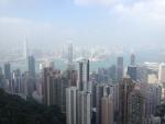 Вид с пика Виктории в Гонконге