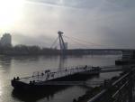 Новый мост через Дунай в Братиславе
