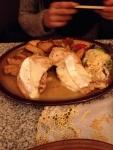 Запеченная курица с сыром (Ресторан U Prasiatka)