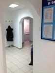 Коридор медицинского центра в Крылатском