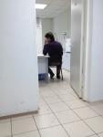 Кабинет где проводят осмотр в медицинском центре в Крылатском