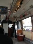 Внутри экскурсионного трамвая (Вена)