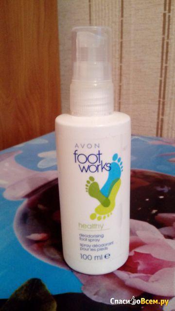 Дезодорирующий спрей для ног Avon Foot Works фото