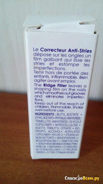 Средство для заполнения неровностей ногтей Dr. Pierre Ricaud фото