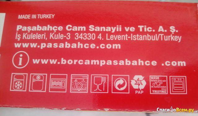 Противень стеклянный для запекания Pasabahce Borcam 280*280 фото