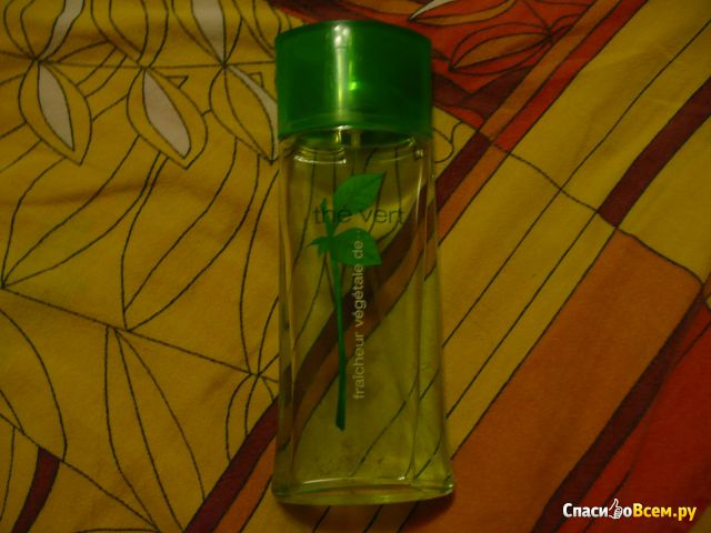 """Кельнская вода Yves Rocher the Vert """"Зеленый Чай"""" фото"""