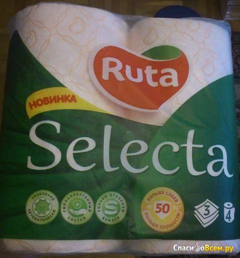 Туалетная бумага Ruta Selecta фото
