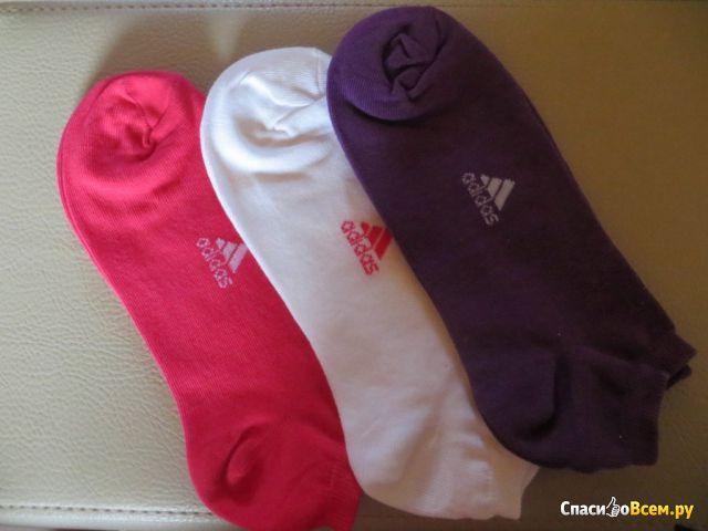 Носки женские Adidas Lin Plain T 3PP фото