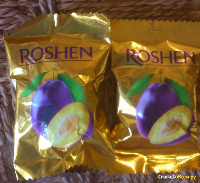 """Конфеты """"Чернослив в шоколаде"""" Roshen фото"""