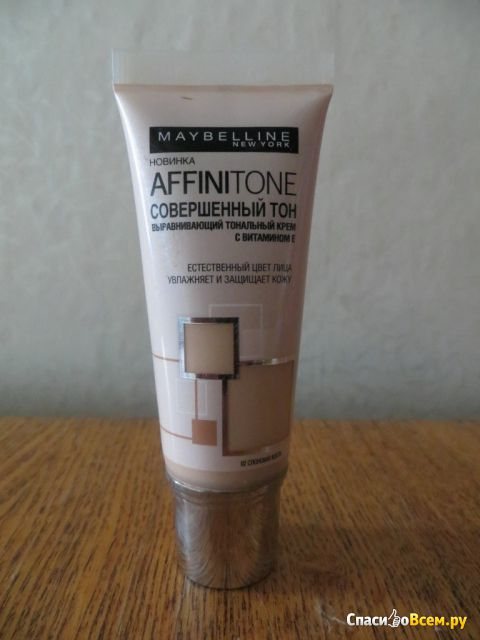 Тональный крем Maybelline Affinitone Foundation with vitamin E фото