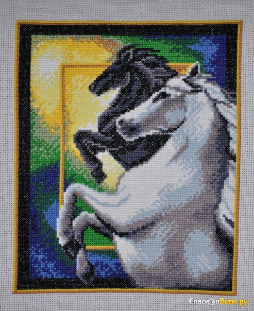 """Набор для вышивания крестом """"Искусница"""" Свет и Тень арт. 628 фото"""
