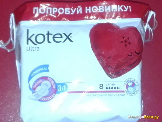 Прокладки Kotex Ultra super фото