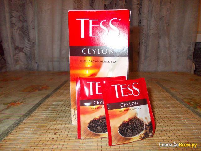 Чай Теss Ceylon черный высокогорный в пакетиках фото