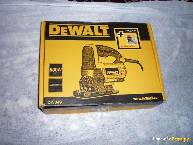 Лобзик электрический DeWalt DW349 фото