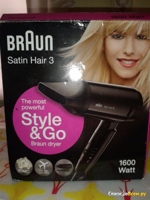 Фен для волос Braun Satin Hair 3 фото