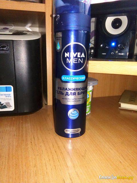 """Гель для бритья увлажняющий Nivea for Men """"Классический"""" фото"""