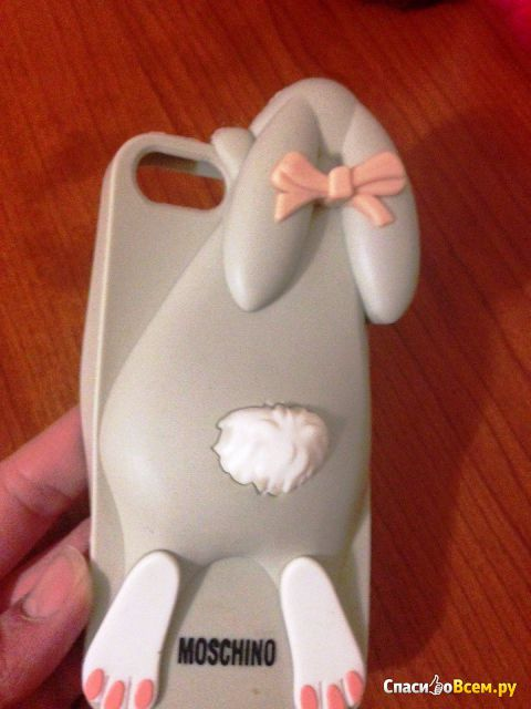 Чехол для мобильного телефона Wogeshisb Cartoon 3D Moschino Bunny case Rabito Rabbit For iPhone 5 фото