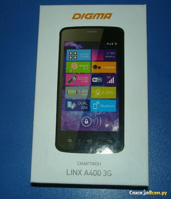 Смартфон Digma Linx A400 3G фото