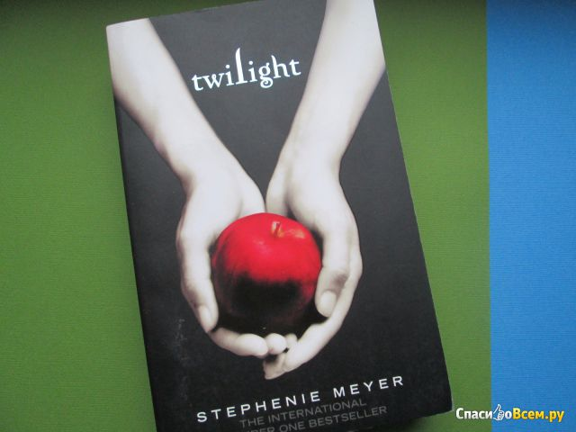 "Книга ""Twilight"", Stephenie Meyer фото"
