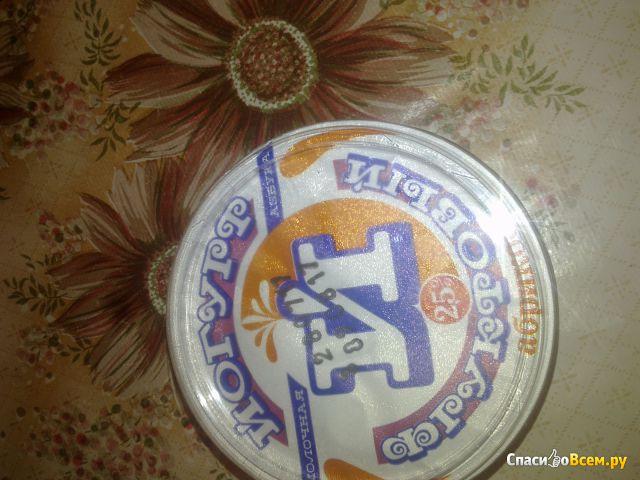 """Йогурт фруктовый """"Молочная азбука"""" 2,5% абрикос фото"""