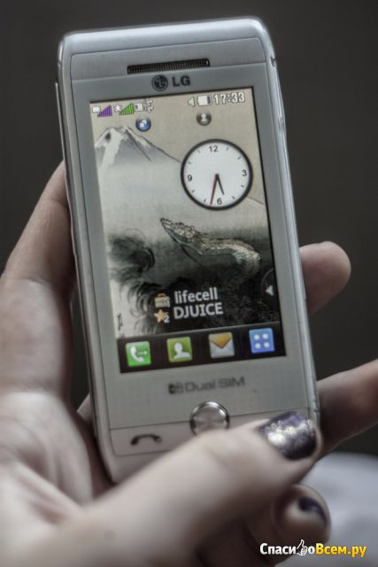 Мобильный телефон LG GX500 фото