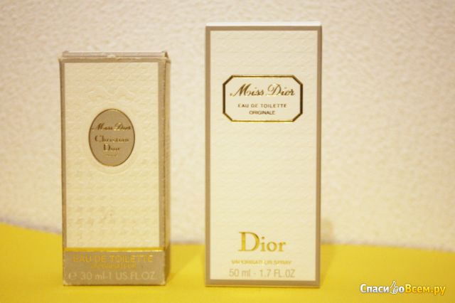 Туалетная вода Christian Dior Miss Dior Originale фото