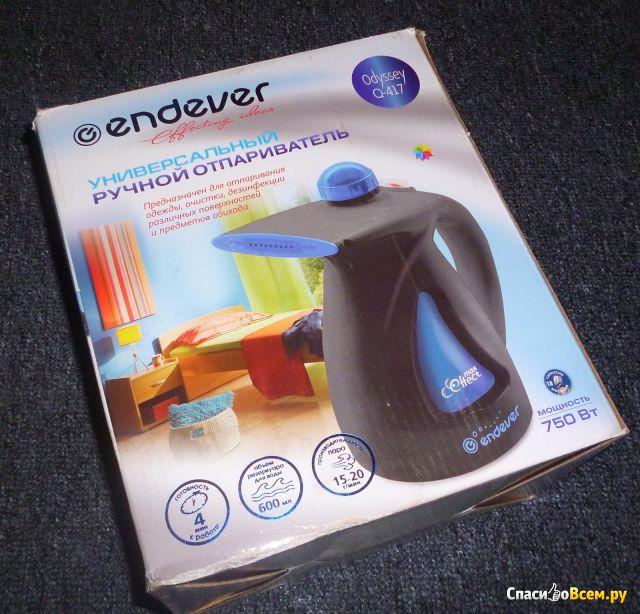 Универсальный ручной отпариватель Endever Odyssey Q-417 фото