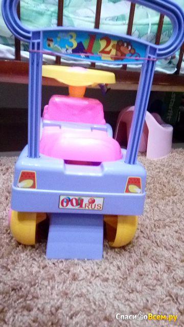 """Игрушка Автомобиль-каталка для девочек """"Спектр"""" фото"""