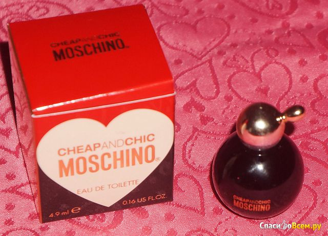 Туалетная вода Moschino Cheap and Chic фото