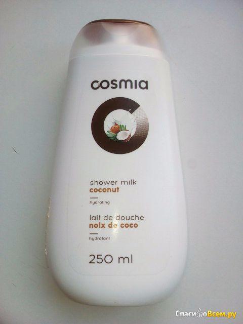 """Молочко для душа Cosmia """"Кокос"""" с эффектом увлажнения фото"""